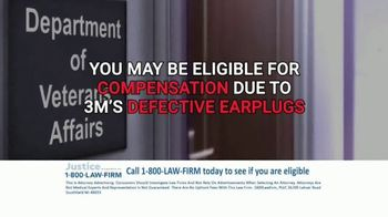1-800-LAW-FIRM TV Spot, 'Military Hearing Loss Compensation' - Thumbnail 7