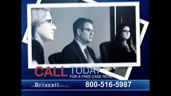The Driscoll Firm TV Spot, 'Round-Up and Non Hodgkin's Lymphoma' - Thumbnail 8
