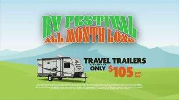 Camping World RV Festival TV Spot, 'Travel Trailers and Motor Homes' - Thumbnail 4