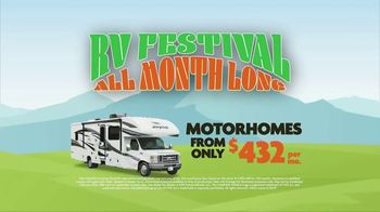 Camping World RV Festival TV Spot, 'Travel Trailers and Motor Homes' - Thumbnail 6