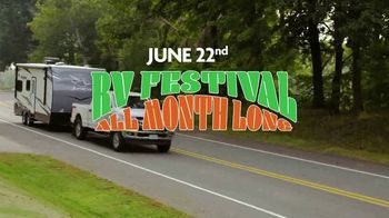 Camping World RV Festival TV Spot, 'Travel Trailers and Motor Homes' - Thumbnail 7