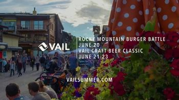 Vail TV Spot, 'This Summer: Rocky Mountain Burger Battle and Vail Craft Beer Classic' - Thumbnail 9