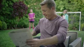 Google Nest Hub TV Spot, 'Hey Dad: Someone at the Door' Featuring Alexi Lalas, Rob Stone - Thumbnail 2