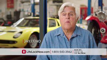 LifeLock TV Spot, 'DSP2 V1A Celeb120 25' Featuring Angie Harmon, Jay Leno - Thumbnail 1