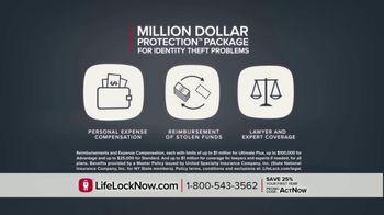 LifeLock TV Spot, 'DSP2 V1A Celeb120 25' Featuring Angie Harmon, Jay Leno - Thumbnail 5