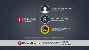 LifeLock TV Spot, 'DSP2 V1A Celeb120 25' Featuring Angie Harmon, Jay Leno - Thumbnail 7