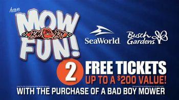 Bad Boy Mowers Outlaws TV Spot, 'Mow Fun!'