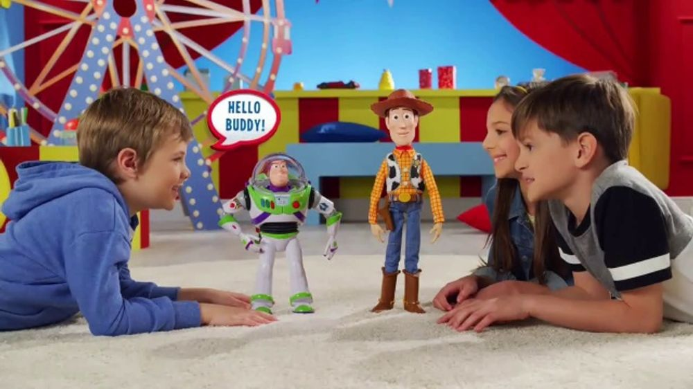 Toy Story 4 Drop-Down Action Buzz and Woody TV Commercial, 'Close Call'