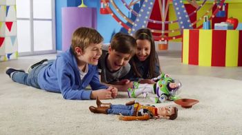 Toy Story 4 Drop-Down Action Buzz and Woody TV Spot, 'Close Call' - Thumbnail 8