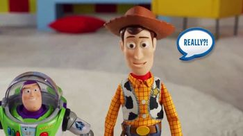 Toy Story 4 Drop-Down Action Buzz and Woody TV Spot, 'Close Call' - Thumbnail 3