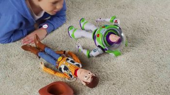 Toy Story 4 Drop-Down Action Buzz and Woody TV Spot, 'Close Call' - Thumbnail 4