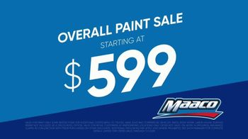 Maaco Overall Paint Sale TV Spot, 'Scratches and Dents' - Thumbnail 5