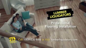 Lumber Liquidators TV Spot, 'New Installation Services' - Thumbnail 10