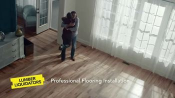 Lumber Liquidators TV Spot, 'New Installation Services'
