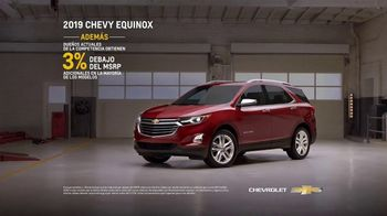 2019 Chevrolet Equinox TV Spot, 'Taller mecánico' [Spanish] [T2] - Thumbnail 9