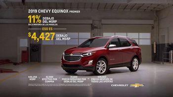 2019 Chevrolet Equinox TV Spot, 'Taller mecánico' [Spanish] [T2] - Thumbnail 8
