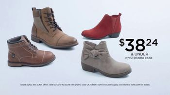 Kohl's TV Spot, 'Women's Flannels, Boots and Luggage' - Thumbnail 5