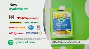 Green Dot Unlimited Cash Back Bank Account TV Spot, 'Extreme Value' - Thumbnail 10