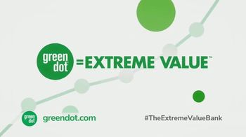 Green Dot Unlimited Cash Back Bank Account TV Spot, 'Extreme Value' - Thumbnail 2