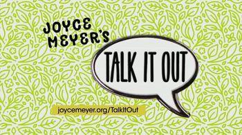 Joyce Meyer Ministries TV Spot, 'Talk It Out' - Thumbnail 2
