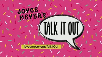 Joyce Meyer Ministries TV Spot, 'Talk It Out'