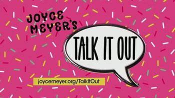 Joyce Meyer Ministries TV Spot, 'Talk It Out' - Thumbnail 6