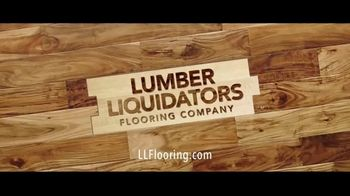 Lumber Liquidators Flooring Yard Sale TV Spot, 'Laminate, Hardwood and Waterproof Vinyl' - Thumbnail 8