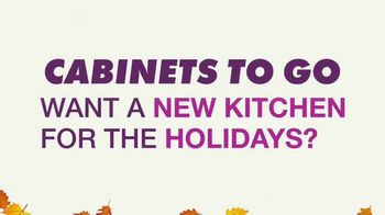 Cabinets To Go Annual Kitchen Makeover Sale TV Spot, 'Styles and Value' - Thumbnail 2