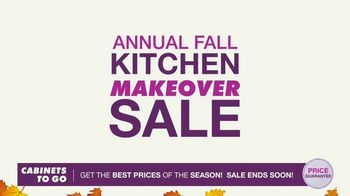 Cabinets To Go Annual Kitchen Makeover Sale TV Spot, 'Styles and Value' - Thumbnail 3
