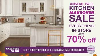 Cabinets To Go Annual Kitchen Makeover Sale TV Spot, 'Styles and Value' - Thumbnail 4