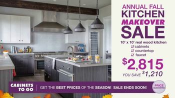 Cabinets To Go Annual Kitchen Makeover Sale TV Spot, 'Styles and Value' - Thumbnail 6