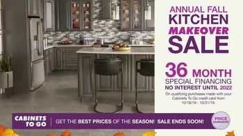 Cabinets To Go Annual Kitchen Makeover Sale TV Spot, 'Styles and Value' - Thumbnail 7
