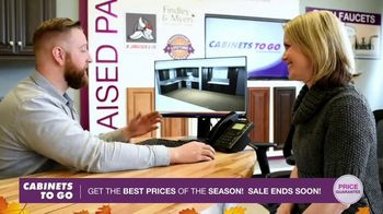 Cabinets To Go Annual Kitchen Makeover Sale TV Spot, 'Styles and Value' - 95 commercial airings
