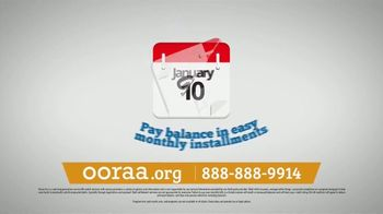 Ooraa Debt Relief Company TV Spot, 'Easy Monthly Installments'