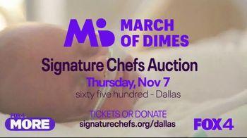 March of Dimes TV Spot, '2019 Signature Chefs Auction: Dallas' Featuring Kent Rathbun - Thumbnail 5