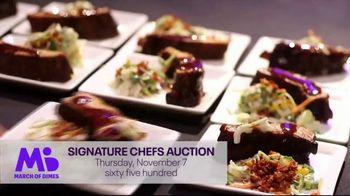 March of Dimes TV Spot, '2019 Signature Chefs Auction: Dallas' Featuring Kent Rathbun - Thumbnail 2