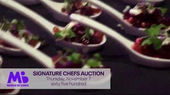 March of Dimes TV Spot, '2019 Signature Chefs Auction: Dallas' Featuring Kent Rathbun - Thumbnail 4