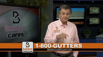Beldon LeafGuard TV Spot, 'Beldon Cares: Save 75 Percent on Labor' - Thumbnail 1