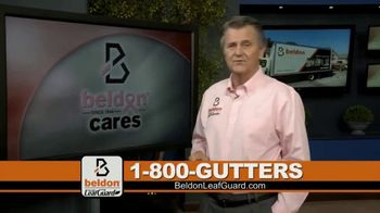 Beldon LeafGuard TV Spot, 'Beldon Cares: Save 75 Percent on Labor'