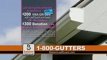Beldon LeafGuard TV Spot, 'Beldon Cares: Save 75% on Labor' - Thumbnail 6