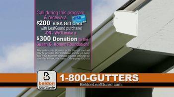 Beldon LeafGuard TV Spot, 'Beldon Cares: Save 75 Percent on Labor' - Thumbnail 8