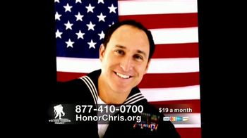 Wounded Warrior Project TV Spot, 'Honor Chris' Featuring Trace Adkins - Thumbnail 9