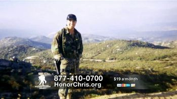 Wounded Warrior Project TV Spot, 'Honor Chris' Featuring Trace Adkins - Thumbnail 4