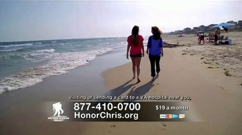 Wounded Warrior Project TV Spot, 'Honor Chris' Featuring Trace Adkins - Thumbnail 7