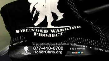 Wounded Warrior Project TV Spot, 'Honor Chris' Featuring Trace Adkins - Thumbnail 8