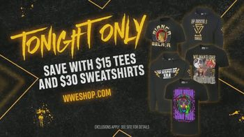 WWE Shop TV Spot, 'We Are: $15 Tees and $30 Sweatshirts' Song by Sleeping With Sirens - Thumbnail 7