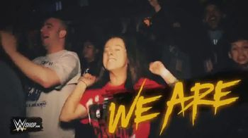 WWE Shop TV Spot, 'We Are: $15 Tees and $30 Sweatshirts' Song by Sleeping With Sirens