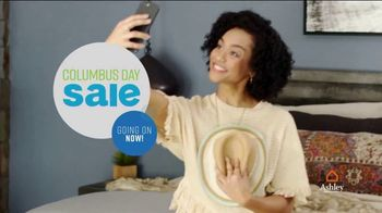 Ashley HomeStore Columbus Day Mattress Sale TV Spot, 'Stearns & Foster' Song by Midnight Riot - Thumbnail 3