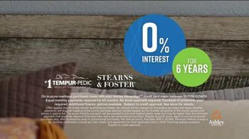 Ashley HomeStore Columbus Day Mattress Sale TV Spot, 'Stearns & Foster' Song by Midnight Riot - Thumbnail 5