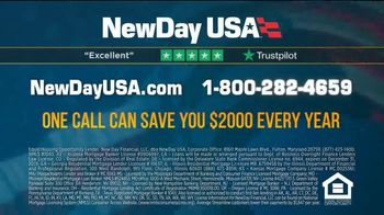 NewDay USA VA Streamline Refi Loan TV Spot, 'Money-Saving News' - Thumbnail 6